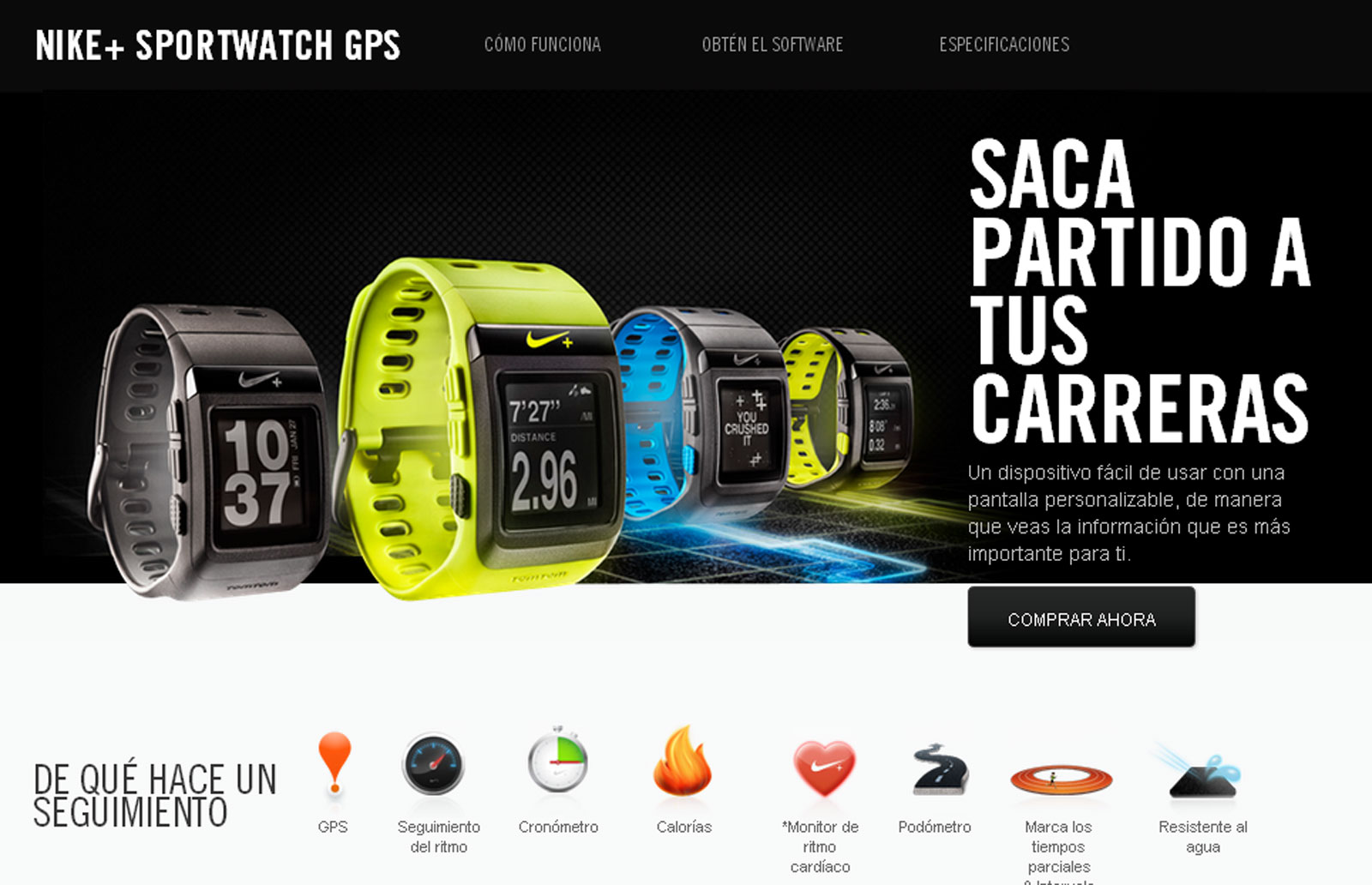 Nike Sport Watch GPS