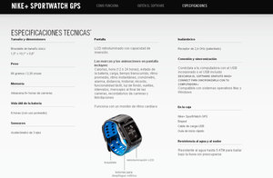 Foto Nike Sport Watch 2012 Reloj Tom Tom Especificaciones