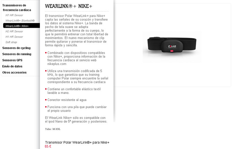 Foto Nike Sport Watch 2012 Banda Wearlink