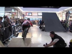GHOST rider Tomas Slavik won the Arkády Downmall Race in Prague