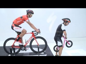 Bicicletas Specialized: The Win Tunnel: The Effects of Drafting